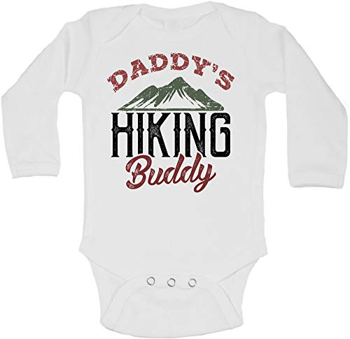 Funny Baby Onesies and Bodysuits Daddy Hiking Buddy Royaltee Camping...