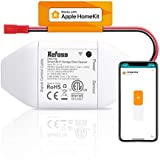 Apple HomeKit Smart Wi-Fi Garage Door Opener, Compatible with Siri, Alexa & Google Assistant, No Hub Needed, Remote Control