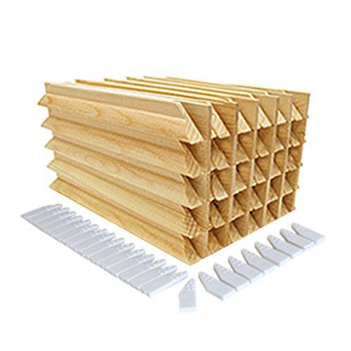 "Bastidores para marcos de lienzos con cuñas de tensión, madera de pino, 38mm, 12"" Stretcher Bars 30pcs"