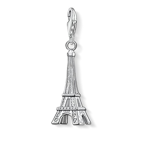Thomas Sabo Women-Charm Pendant Eiffel Tower Charm Club 925 Sterling Silver 0029-001-12