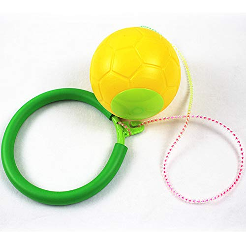 TEBE Skip Ball - Jumping Toy Swing Balls - Great Fitness Game for Men and Women, Old and Young