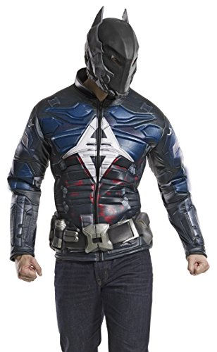 Rubie's Men's Dc Comics Arkham Knight Batman Muscle Chest Top Adult Sized Costumes, As Shown, Small US