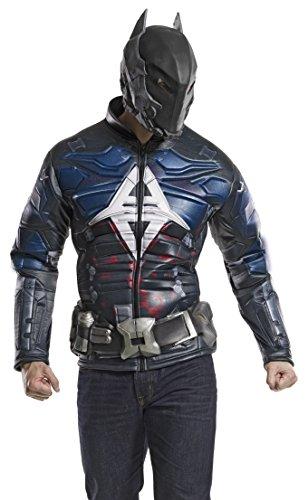 Rubie's Costume Co DC Comics Men's Arkham Knight Muscle Chest Costume Top, Multi, X-Large