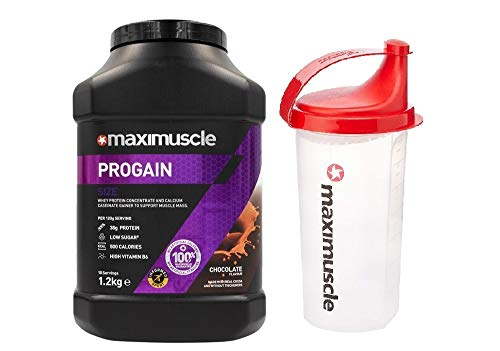 Maximuscle Progain - 1.2kg - Chocolate with Shaker
