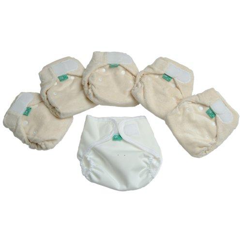 TotsBots Bamboozle Stretch 5 Pack Herbruikbare wasbare luiers van 5 lbs tot 18 lbs in maat 1