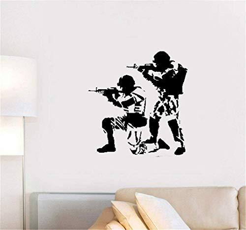 Wandaufkleber Kinderzimmer Aufkleber Dekor Home Decor Poster Aufkleber Soldaten Krieger Militär