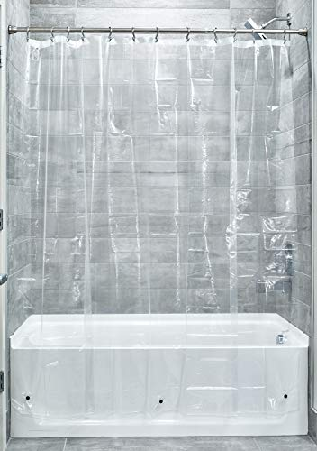 Our #4 Pick is the iDesign Plastic Shower Curtain Liner