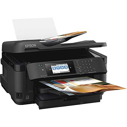 WorkForce WF-7710 Wireless Wide-format Color Inkjet Printer with Copy,...