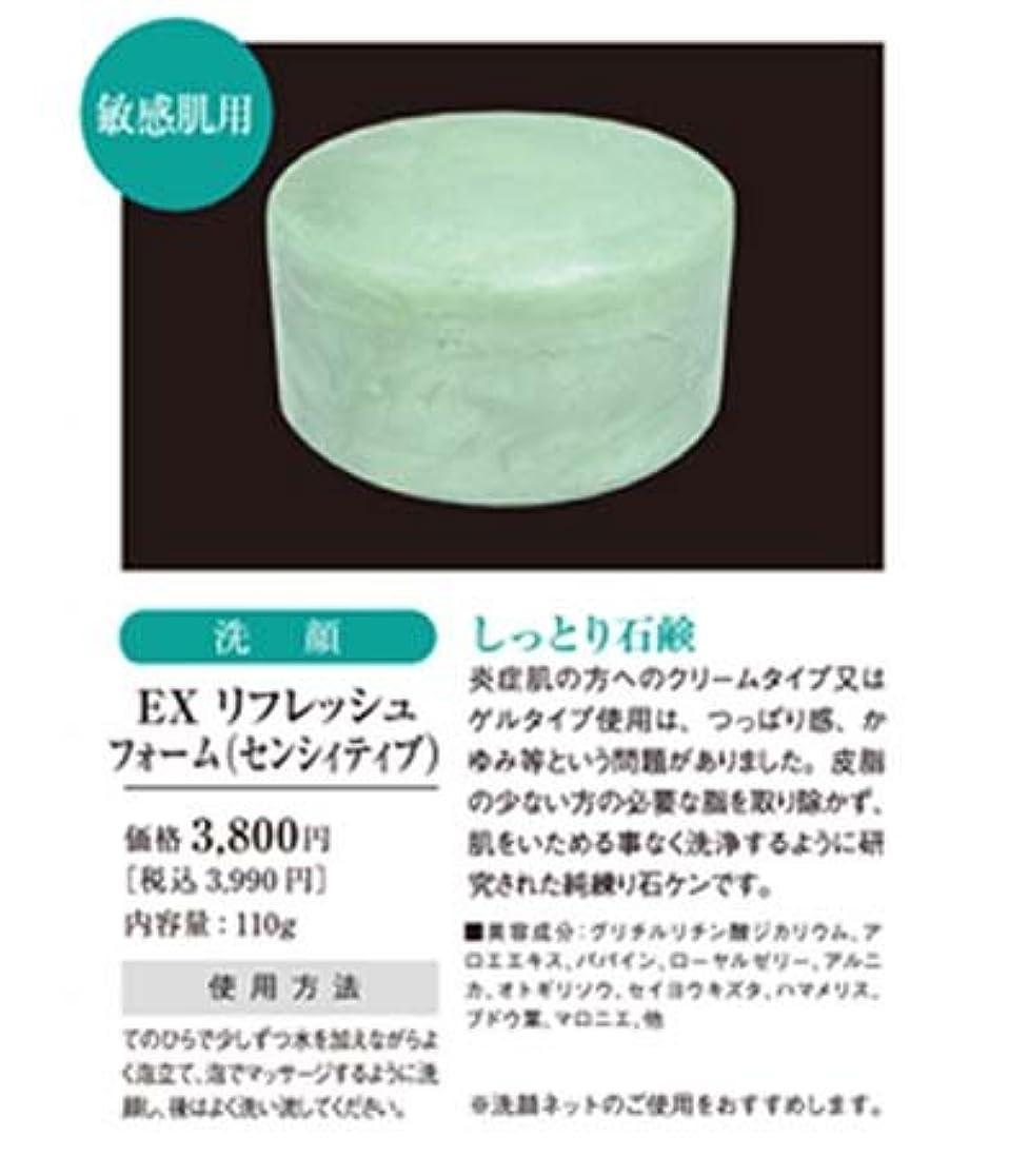 ジョブ細菌チューブリセル EXリフレッシュフォーム(センシィティブ) 110g 【R-Cell(リセル)】