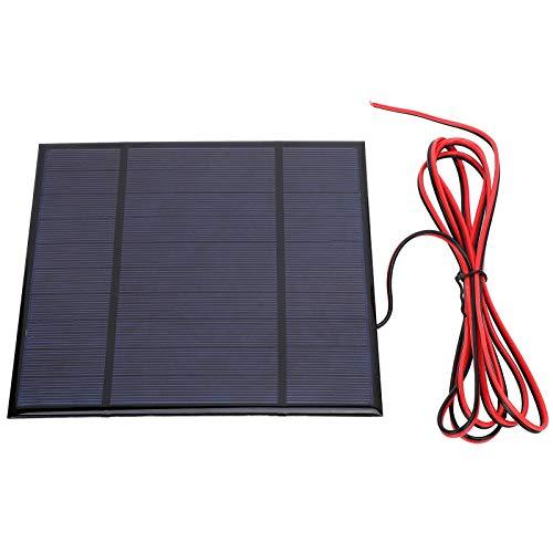 Pannello Solare, Caricatore Mini Pannello Solare 5V 4.5W 900mA, Modulo di Alimentazione Cellulare, Pannello Solare Portatile Aggiornato, Alta Velocità di Conversione Antivento Antivento con Cavo 78,7