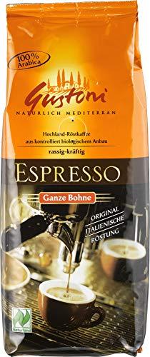 Gustoni Bio Espresso, ganze Bohne (1 x 250 gr)
