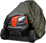 1PC Riding <span class='highlight'>Lawn</span> <span class='highlight'>Mower</span> Cover, Ride On <span class='highlight'>Mower</span> Cover, <span class='highlight'>Lawn</span> <span class='highlight'>Mower</span> Cover Heavy Duty Waterproof Uv Protection Tractor Covers, Water Resistant Cover For Ride-on Garden Tractor (include Storage Bag)