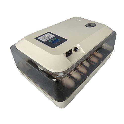 LHQ-HQ Incubadora automática, Inteligente de Control de Temperatura for incubar de Pollo Pato Ganso Aves criadoras, 24 Huevo