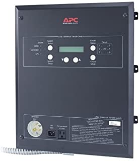 APC UTS6H Universal Transfer Switch 6-Circuit - Bypass switch - AC 120 V