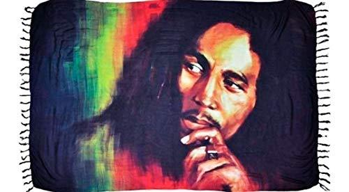 Canga De Praia Bob Marley Vários Modelos e Cores Confira (Marrom)