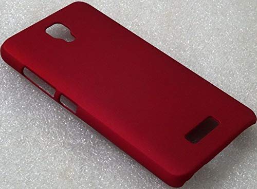 SMARTSURF CASES Suitable for GIONEE Pioneer P4 Imported Matte Finish Hard Back CASE Cover (Material-Plastic)(Color-RED)