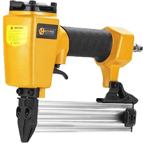 Air Nail Gun, 10-22mm Nailers, Tapler Model U Nail 10ML, Gauge Brad Nailer Woodworking Tools for DIY, Furniture Fixing, Decking, Decoration