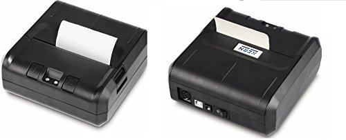 Impresora térmica RS-232 [Kern YKE-01] para imprimir pesas en etiquetas térmicas, compatible con todas las balanzas KERN 2016. ASCII capaz