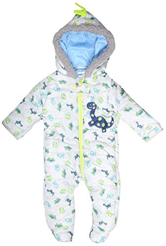 Product Image of the Duck Duck Goose Newborn Baby Boys & Girls Quilted Pram Snowsuit (0-3 Months,...