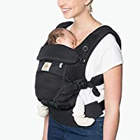Ergobaby Adapt Infant To Toddler Baby Carrier (Onyx Black)