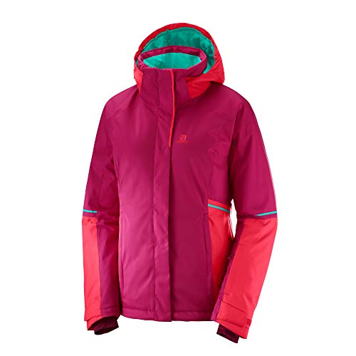 SALOMON Damen Snowboard Jacke Stormseason Jacke