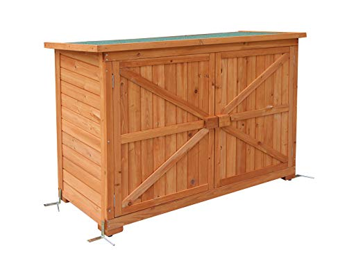MCombo Garden Cabinet Tool Shed Tool Shed Garden Shed Wood