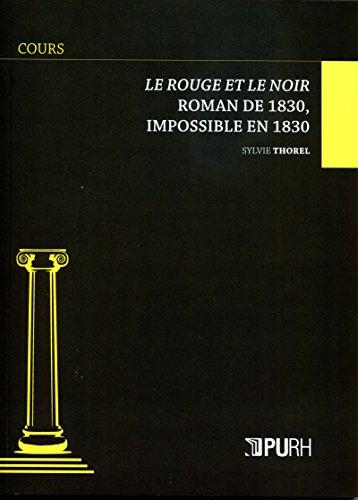 Le Rouge et le Noir (Cours) (French Edition)