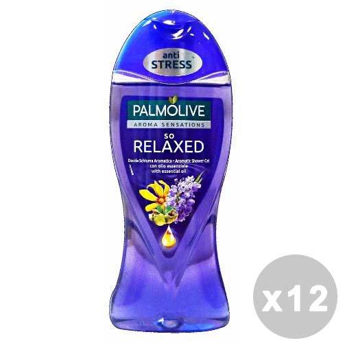 Palmolive Set 12Palmolive Dusche so Relaxed 250ml.–Dusch Schaum