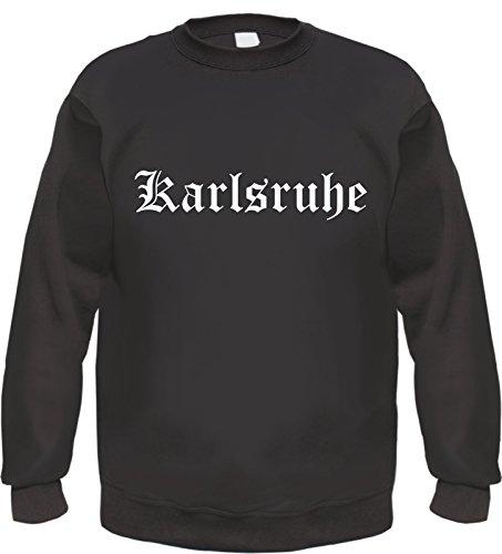 HB_Druck Karlsruhe Sweatshirt Pullover 3XL Schwarz