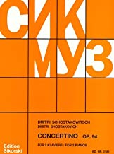 Shostakovich: Concertino for Two Pianos, Op. 94 (for 2 pianos)