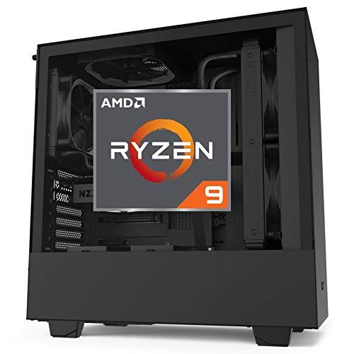 Gaming PC RTX 3070 w/8GB Ryzen 3900X 12 Core 4.6hz - 32GB RAM, 1000GB NVMe PCIe 4.0, Black Tower-CPU Solutions CEG-7692