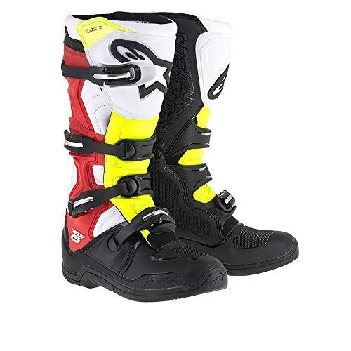 Alpinestars Tech 5 Boots - Black/Red/Yellow - 12