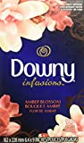 Keep your laundry extra soft and static-free with Downy fabric softener dryer sheets Downy Infusions bliss transforms your laundry with the sweet and vibrant scent of amber and rose Fabric softener sheets fight static and soften fabrics with extra fr...
