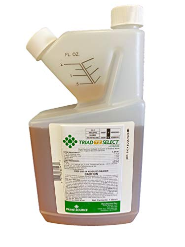Select Source Triad TZ | 4-Way Combination Herbicide (Compare to T Zone) | Dependable Post-Emergent Broadleaf Weed Control (Quart)