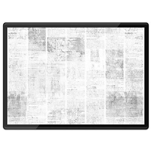 Destination Vinyl Ltd - Mantel individual de plástico (tamaño A3, tamaño A3, diseño vintage de Grunge Newspaper Urban Retro para lugar de trabajo/mesa/alfombrilla para ratón/lavable, resistente al agua #43724