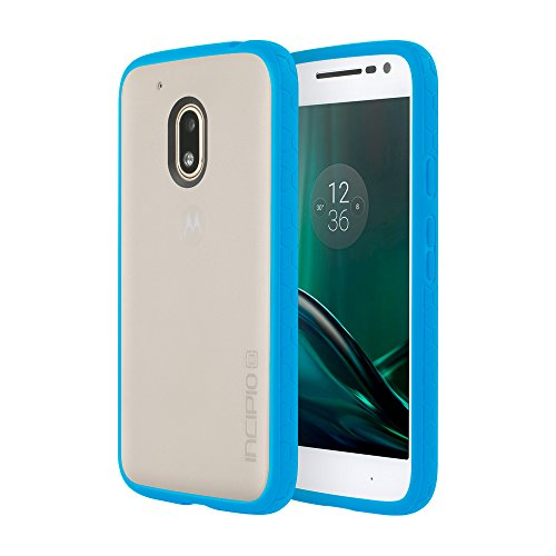 Incipio - Custodia per Motorola Moto G4 Play Octane, colore: Ciano