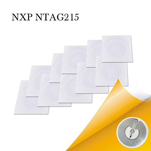 Best Price Fongwah 5000pcs NTAG215 NFC Stickers can be Used for amiibos Games and Also Compatible wi...