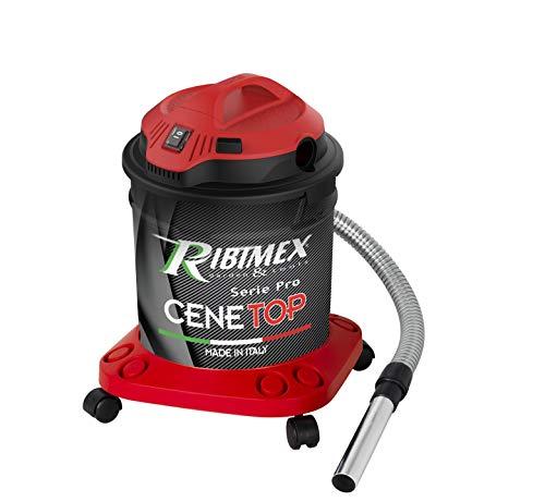 Aspiracenere professionale'CENETOP' 1200 W 18 L con pulizia automatica filtro