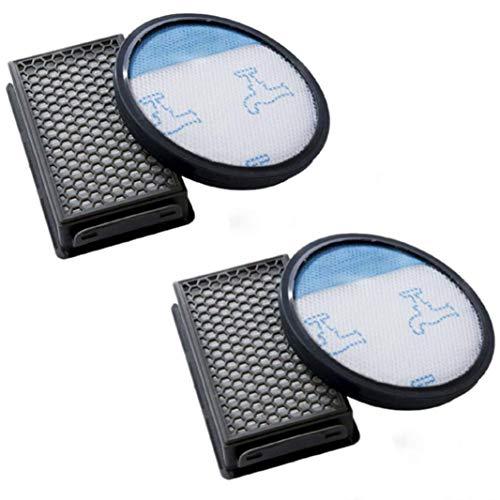 Voarge Juego de 2 filtros para aspiradora Rowenta Compact Power Cyclonic como RO3731EA, RO3724EA, RO3753EA, RO3786EA, RO3798EA, RO3718EA, RP3721EA, filtros como ZR005901