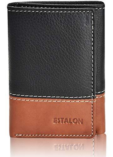 Slim Wallets for Men - RFID Secured Front Pocket Trifold Wallet with ID Holder