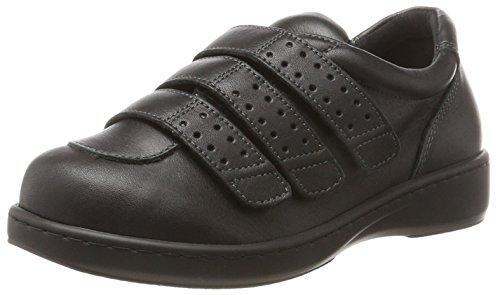 PodoWell AQUITAINE Uniseks - Volwassenen Sneakers, zwart, 44 EU