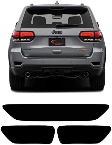 Details about  /ATU Black Rear Bumper Guard Protector Double Layer Fits 2011 2021 Grand Cherokee