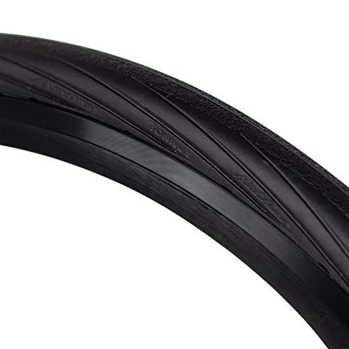 Tannus Tire 700x28c (28-622) Reifen Portal | 100% Pannensicherer Rennrad-Reifen, Farbe Midnight (Schwarz), Härte Hard
