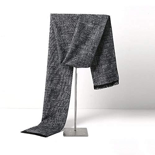 Preisvergleich Produktbild PAXF Herren Langes Dickes Kabel Kaltes Winter Warmes Halstuch Weiches Strickhalstuch