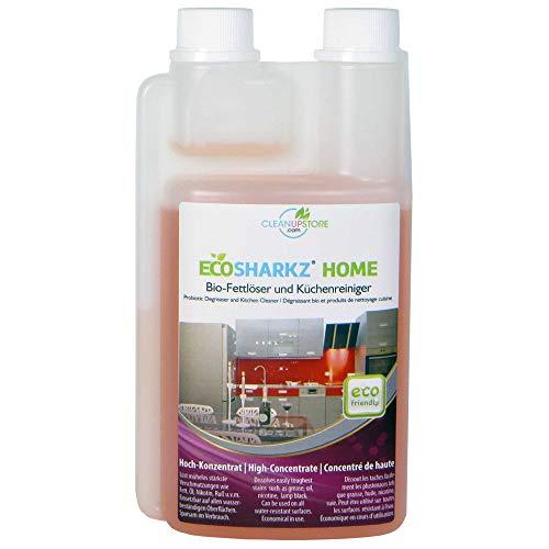 Pulizia da cucina lucida – Spray sgrassante – Detergente biologico per ogni superficie lucida (concentrato produce 50 litri di detergente da cucina).