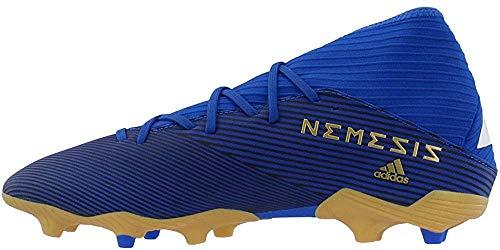 adidas Men's Nemeziz 19.3 Firm Ground Soccer Shoe (Football Blue/FTWR White/Core Black, Numeric_9)