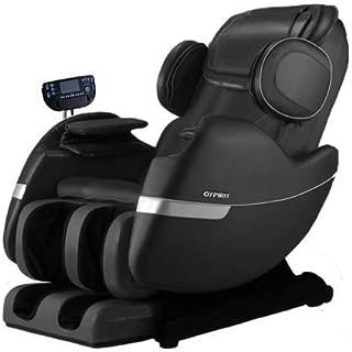 R Rothania Ospirit New Electric Full Body Shiatsu Massage Chair Recliner Straight I Track 3yr Warranty (Black)