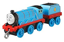 Includes die-cast metal Gordon Features plastic connectors to attach to other Push Along and Motorized TrackMaster engines, vehicles, cargo cars or tenders (sold separately and subject to availability) Highly detailed to reflect the colours and de...