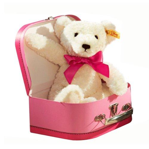 Steiff 673566 - Teddybär Mädchen im Koffer 27 cm