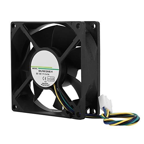 Tangxi Refrigerador de CPU para AMD/Intel, Ventilador de enfriamiento de CPU de 80 mm, DC12V 4000RPM 38.55CFM 4Pin PWM Radiador de CPU para PC, refrigeradores de CPU, Sistema de radiadores